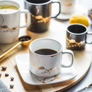 Ceramic Tea Cup And Saucer Set Creative