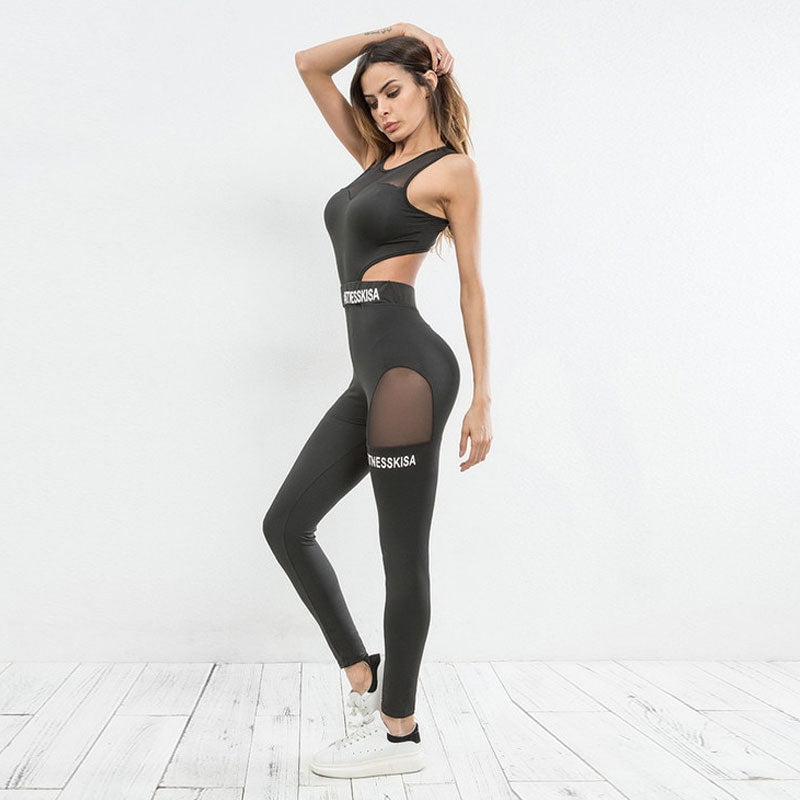 One Piece Cut Out Leggings