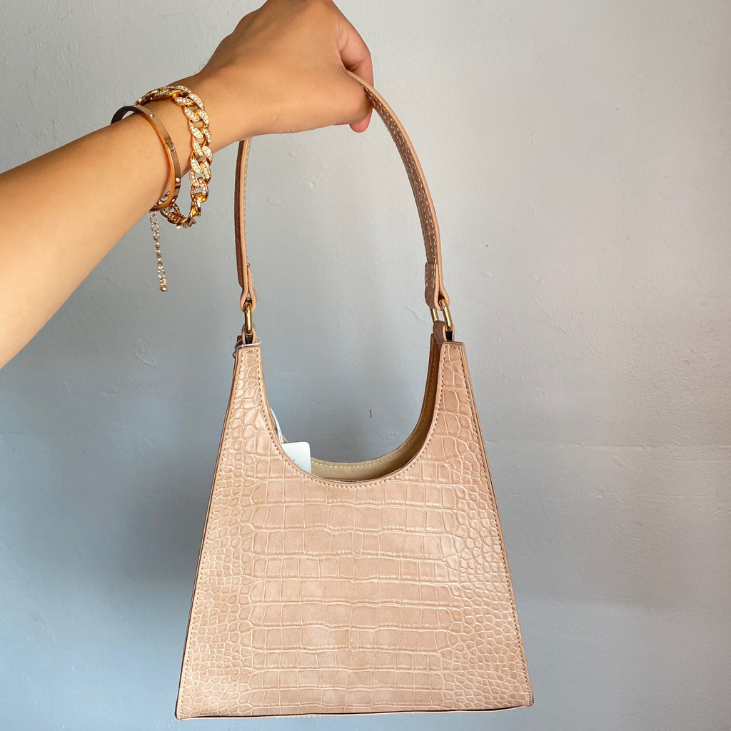 Rylee Shoulder Bag (Nude)