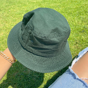 Sarah bucket hat (olive green)