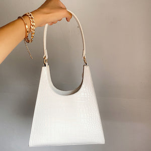 Rylee Shoulder Bag (white)
