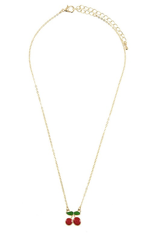 Mel Cherry Necklace
