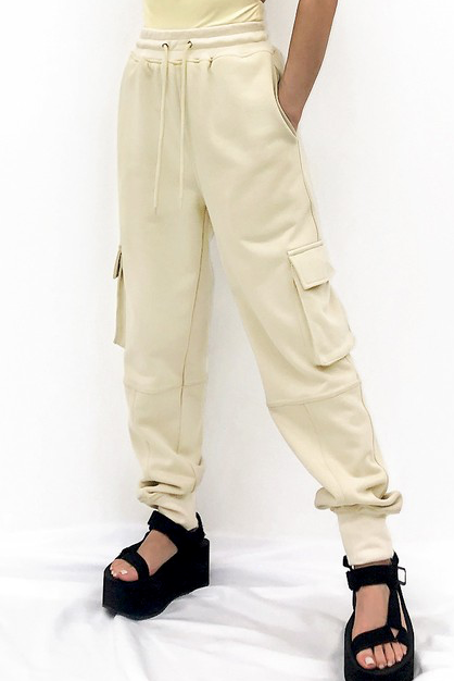 Kylie Cotton Cargo Pants