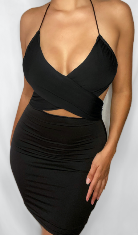 Kim Halter Top Dress