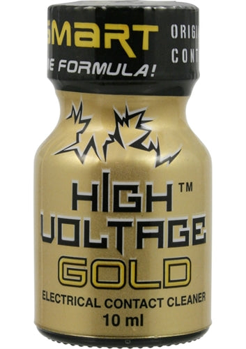 High Voltage Gold Electrical Contact Cleaner 10 ml HV1006
