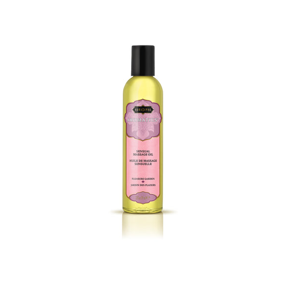Aromatics Massage Oil - Pleasure Garden - 2 Fl Oz KS10278