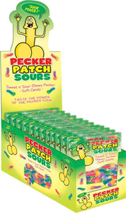 Pecker Patch Sour Gummies - 12 Piece Display HTP2422-D