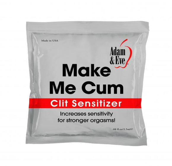 Adam and Eve Make Me Cum Clit Sensitizer - 2.5ml Foil Pack AE-LQ-7915-2E