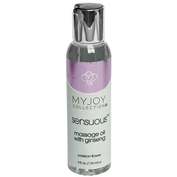 My Joy Collection Sensuous Massage Oil-Passion Flower 4oz