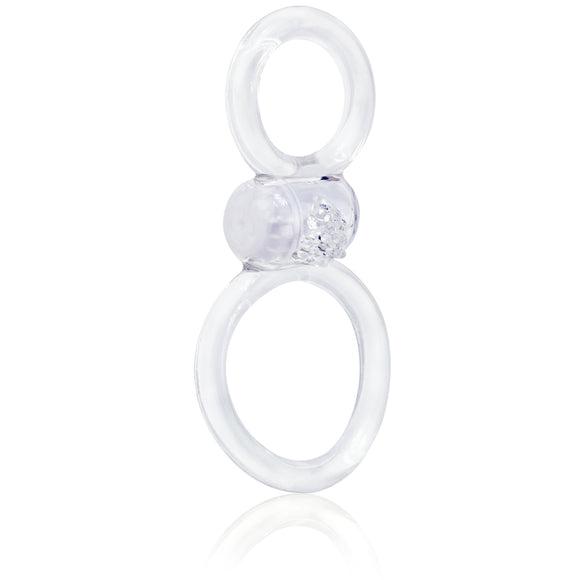 Ofinity Plus - Dual Vibrating Ring - Clear OFYP-C-110E