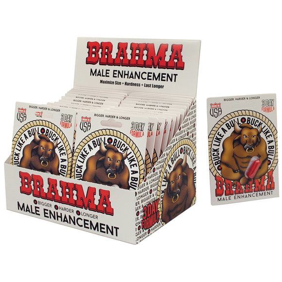 Brahma Male Enhancement Pills Display of 24