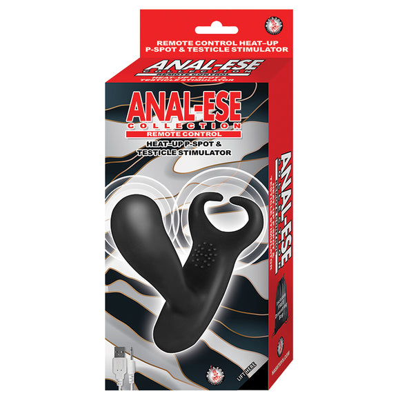 Anal-Ese Collection Remote Control Stimulator-Black