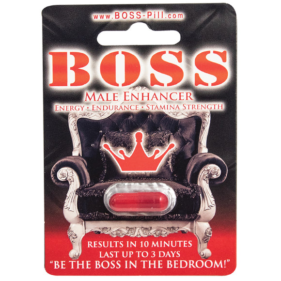Boss Male Enhancer Pill Single Pack