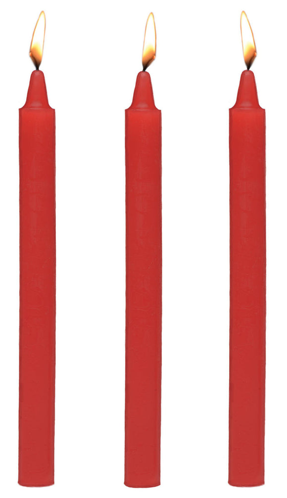 Fetish Drip Candles 3pk - Red MS-AG364-RD