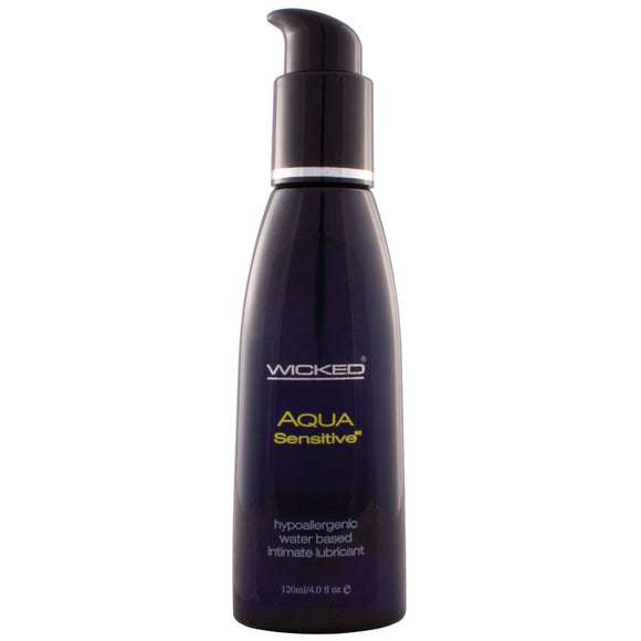 Wicked Aqua Sensitive Lube 4oz