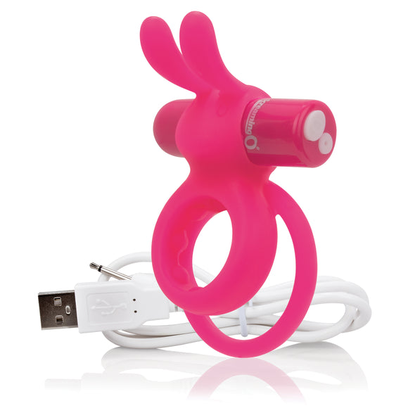 Charged Ohare Rechargeable Rabbit Vibe - Pink AHAR-PK-101E