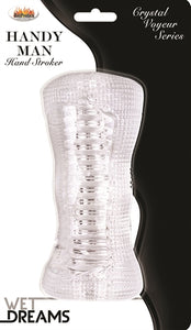 Wet Dreams Crystal Voyeur Handy Man Stroker HTP2952