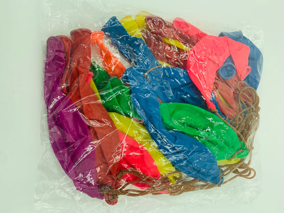 Punch Balloons - 20 Piece Bulk Bag JSM-BALL20PK