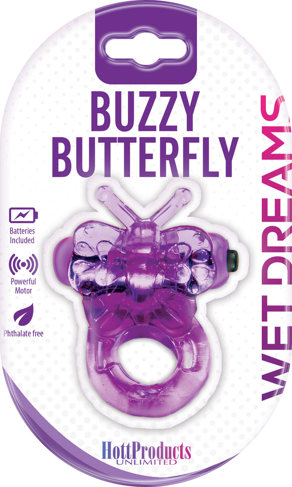 Purrfect Pet Buzzy Butterfly - Purple HTP2135