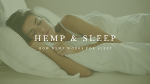 hemp oil for sleep disturbances