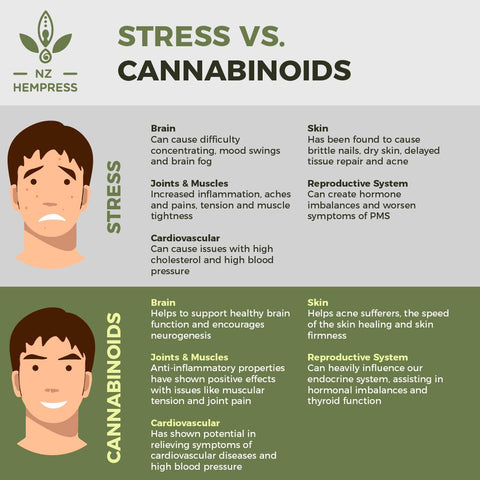 hemp oil for stress relief