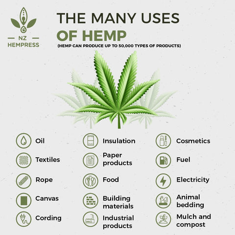 what is hemp uses