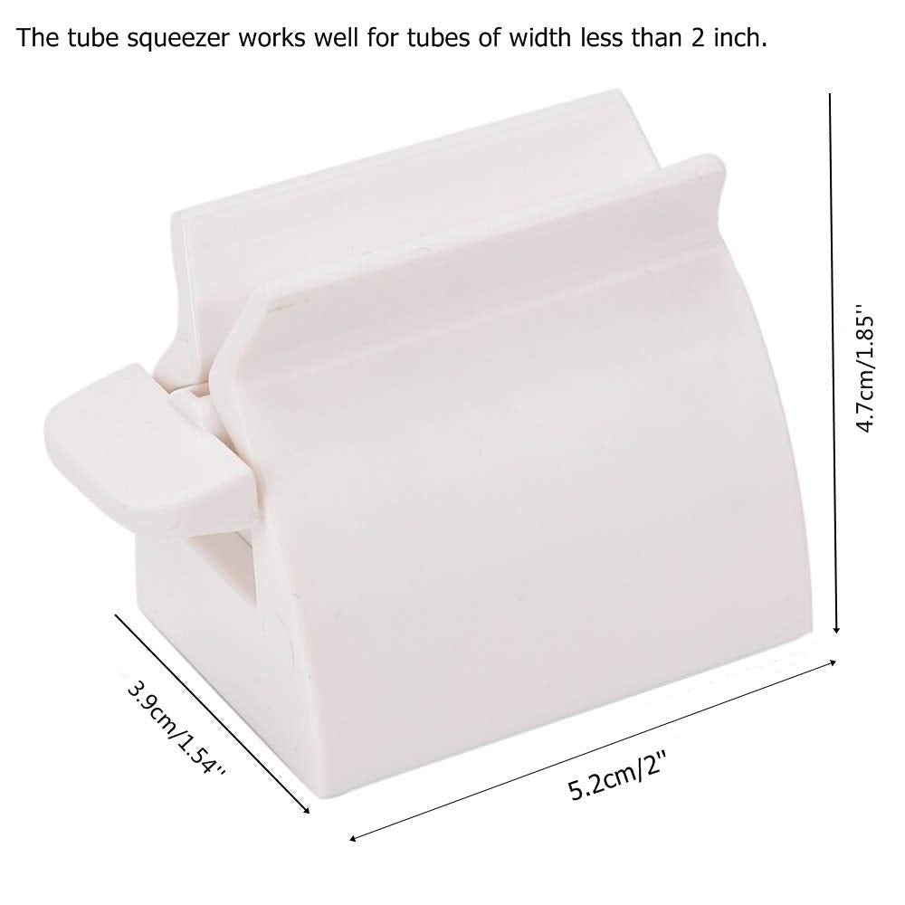 Manual Rolling Tube Toothpaste Squeezer White Toothpaste Holder Stand Eicrf