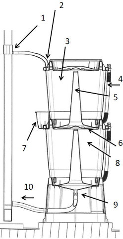 100 litre small water butt assembly instructions