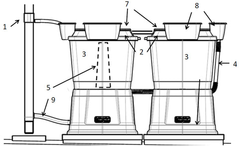134 litre water butt assembly instructions
