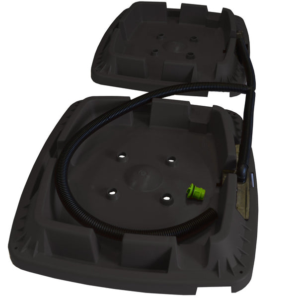 Black-Double-Rainwater Terrace  water butt Top Feed Upgrade kit NEW for 2017