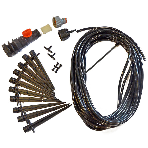 Micro drip irrigation kit for Rainwater Terrace water butts