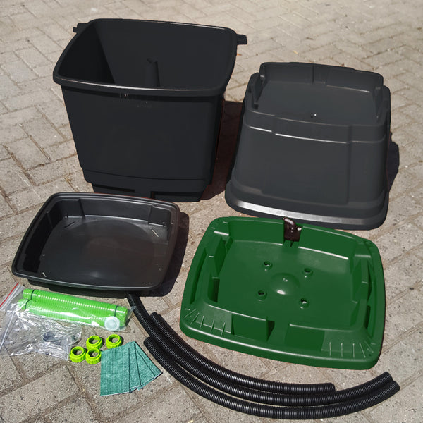 Converter Kit: 3 Tier Rainwater Terrace to Double 2 Tier Rainwater Terrace