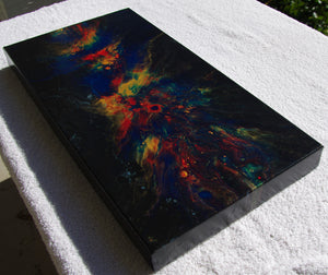 10x20 Acrylic Abstract Painting - Celebration