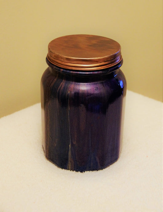 4x6 Mason Type Glass Jar with Lid