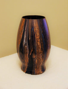 5x7.5 Glass Vase Earth Tones