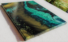 Load image into Gallery viewer, 11x14 Acrylic Abstract Painting - Verdant
