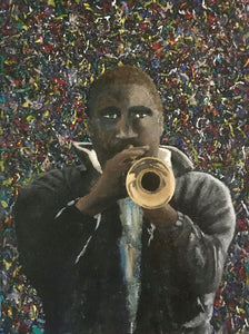 """Forte"" - 18x24 Jazz Musician Oil Painting"