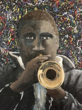 "Load image into Gallery viewer, ""Forte"" - 18x24 Jazz Musician Oil Painting"