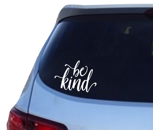 Be Kind vinyl decal - FREE SHIPPING! multiple sizes