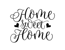 Load image into Gallery viewer, Home Sweet Home v1 vinyl decal - FREE SHIPPING! multiple sizes