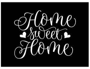 Home Sweet Home v1 vinyl decal - FREE SHIPPING! multiple sizes
