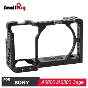 SmallRig Camera Cage for Sony A6000 / A6300 / A6500 ILCE-6000/ILCE-6300/ILCE-A6500/Nex-7 Cell 1661 - A-Z amazing