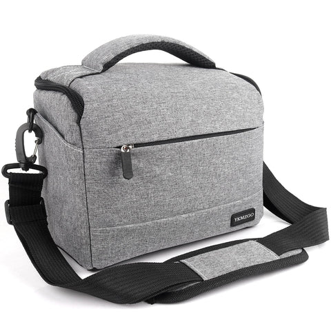 DSLR Camera Bag Fashion Polyester Shoulder Bag Camera Case For Canon Nikon Sony Lens Pouch Bag Waterproof Photography Photo Bag - A-Z amazing