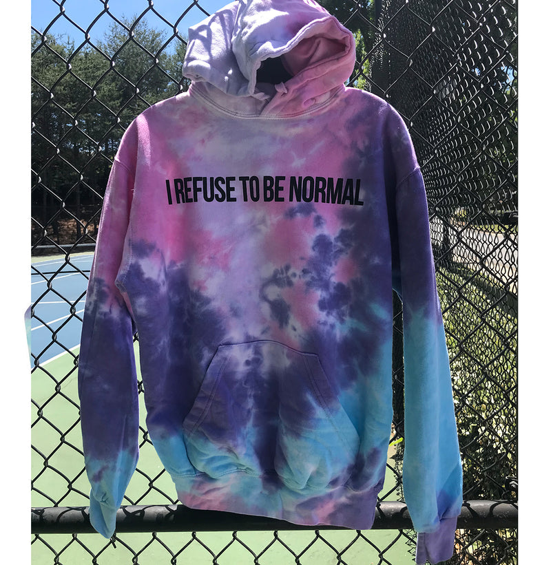 I Refuse To Be Normal Pullover Hoodie (Cotton Candy Limited Edition) - I Refuse To Be Normal