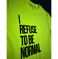 Neon Summer Breeze Puff Tee - I Refuse To Be Normal - I Refuse To Be Normal