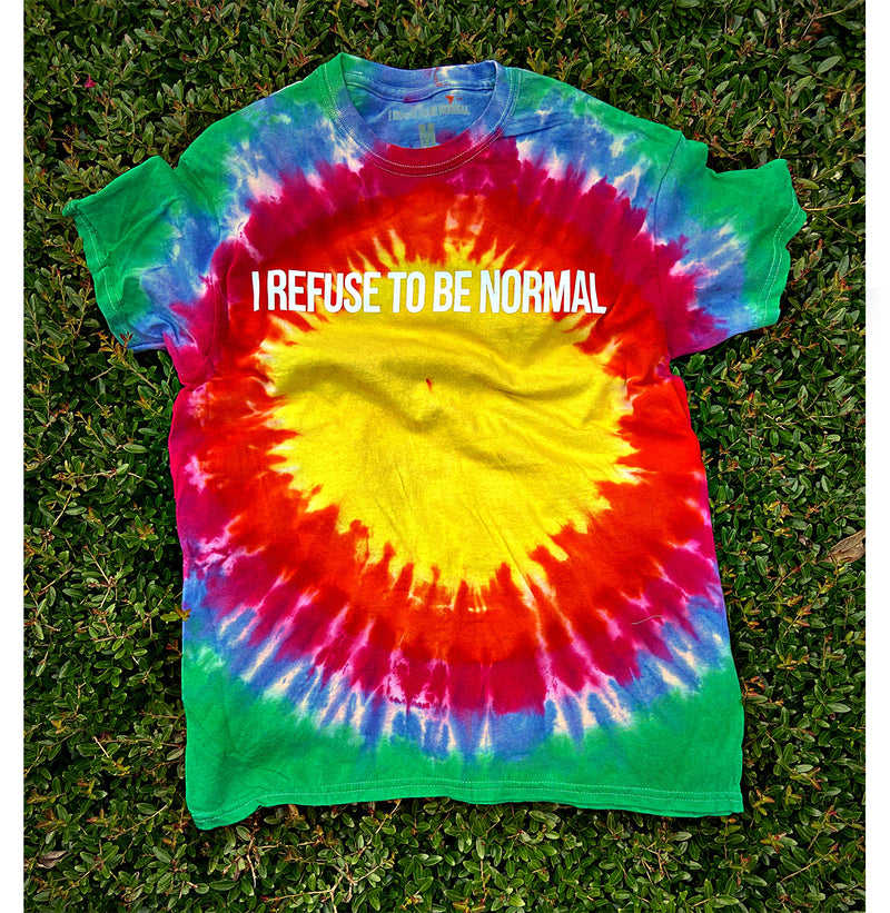I Refuse To Be Normal Tee (Starbust Summertime) - Limited Edition - I Refuse To Be Normal