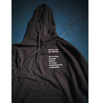 I Refuse To Be Normal - Definition Pullover Hoodie (Black) - I Refuse To Be Normal
