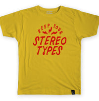 Keep Your Stereotypes - Yellow Puff Tee - I Refuse To Be Normal