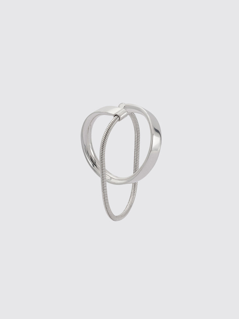 IRENE small hoop with chain