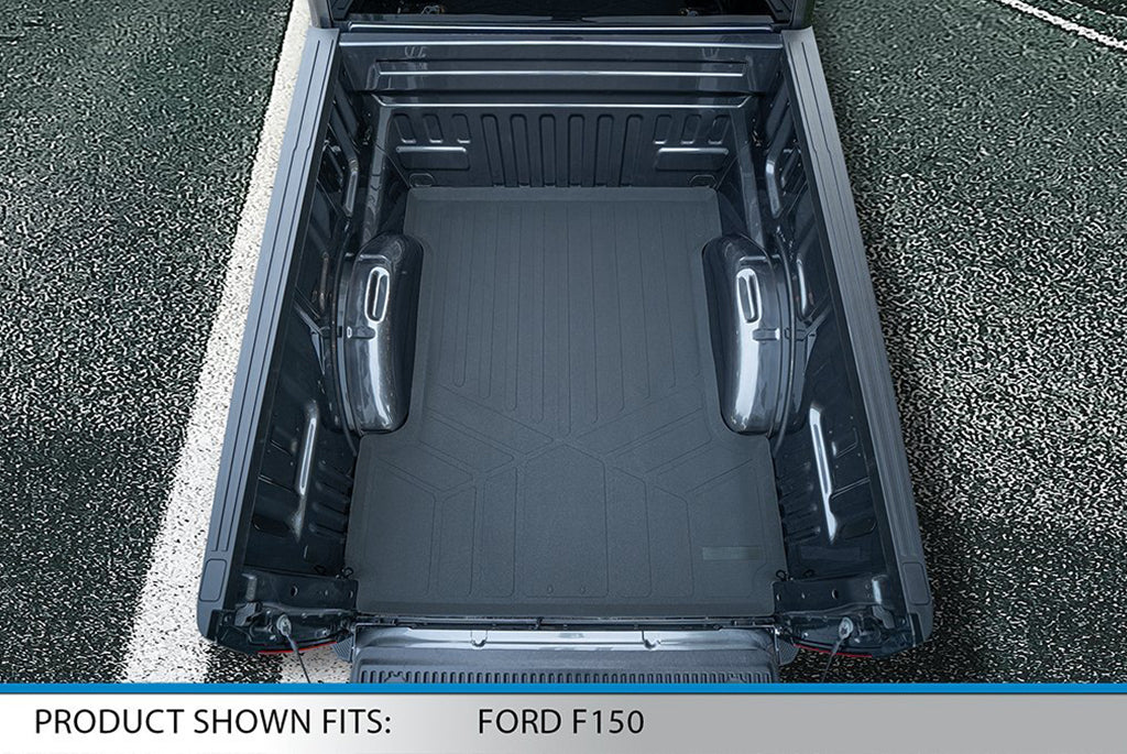 Smartliner Custom Fit Truck Bed Liner Mat for 2015 Ford F-150 SuperCrew